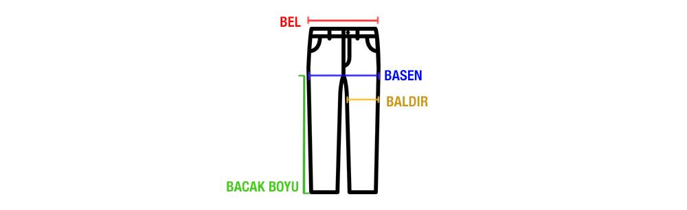 Dressmann Düşük Belli Kot Pantolon
